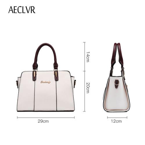 AECLVR women shoulder bag Large capacity crossbody bags for women 2018 elegant Ladies luxury handbags women bags designer bolsas