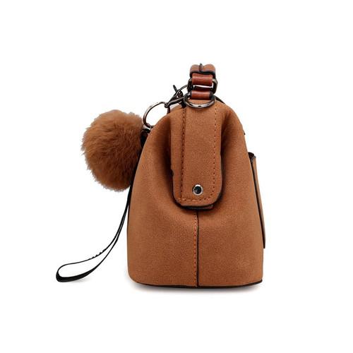 2018 New Vintage Tassel Doctor Handbag Women Messenger Bags Solid Color PU Leather Crossbody Shoulder Bags Top-handle Sac A Main