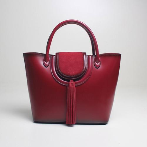 Women Big Handbag Genuine Leather 2018 Leather Simple Female Large Capacity Tote Elegant Shoulder bag Top-handle Lady Handbags