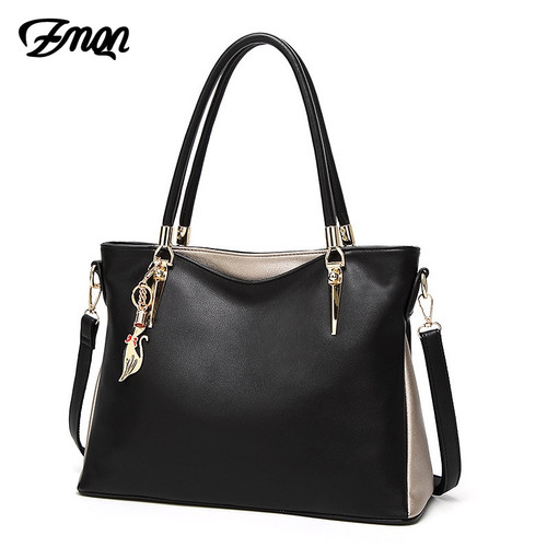 ZMQN Luxury Handbags Women Bag Designer 2018 PU Soft Leather Shoulder Bags for Women Famous Brand Fashion Luxe Woman Bag Kabelka