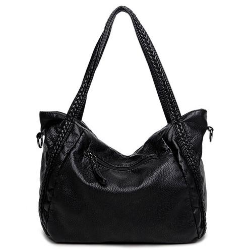 Sisjuly High Quality Soft PU Leather Top-handle Bag Fashion Women messenger Bag Larger Shoulder Bag Waterproof Women Bag 2017