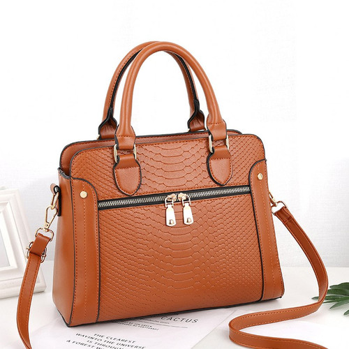 LEFTSIDE Snake Skin Pattern Leather Handbags For Women 2018 Band Designer Shoulder Bags Work Bag Tote Bags Ladies Crossbody Bag