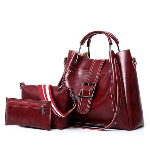 Women's Messenger Bag  Women Bags Leather Luxury Handbags Famous Brands Female Shoulder Bags Designer Crossbody Bags For LW-171