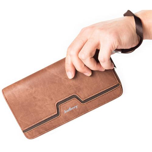 Baellerry Long Money Clutch Bag Lady Women Men Wallet Male Female Coin Purse Cuzdan For Card Holder Baellery Wristlet Portomonee