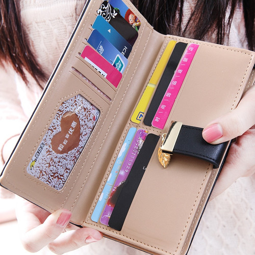 Designer Famous Brand Luxury Women's Wallet Purse Female lady walet cuzdan perse Portomonee portfolio carteras