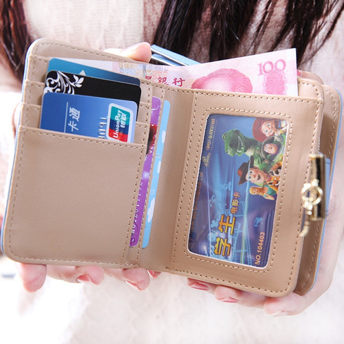 2018 Designer Famous Brand Luxury Women's Wallet Purse Female Small walet cuzdan perse Portomonee portfolio lady short carteras
