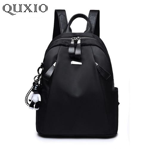 Mochilas mujer 2018 Oxford cloth waterproof school bags for teenage girls Fashion zipper backpack women mochila feminina CL05-D