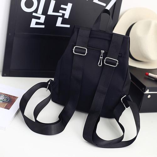 2018 Nylon Fashion  Backpacks Women Young Ladies Backpack Girl Student School Bag For Laptop Travel bag Black Mochilas Hot Sale