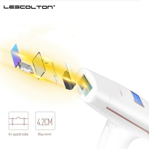 Lescolton 2in1 IPL depiladora Laser Hair Removal LCD Display Permanent Bikini body Armpit face rechargeable depilador T009i
