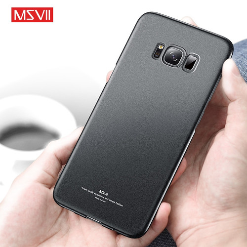 MSVII Phone Cases for Samsung Galaxy S8 Case Luxury Shockproof for Samsung Galaxy S8 Plus Case Cover Ultra Slim Hard Back Covers