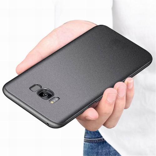 Luxury Scrub Sandstone Matte Phone Case For Samsung S8 Plus Note 8 Ultra Slim Hard PC Back Cover For Galaxy S6 S7 Edge S9 Plus