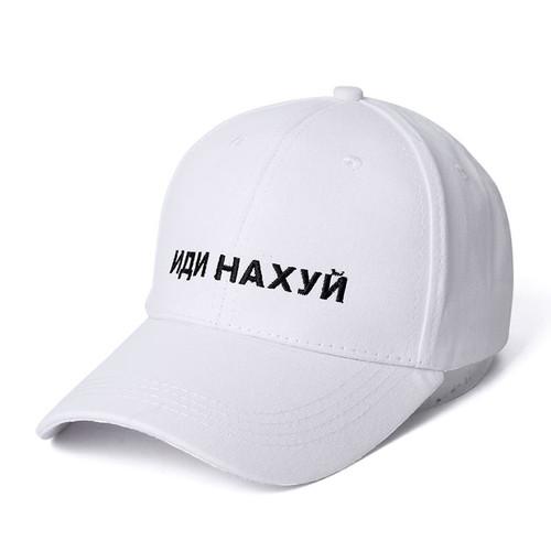 High Quality Brand Russian Letter Snapback Cap 100% Cotton Baseball Cap For Adult Men Women Hip Hop Dad Hat Bone Garros