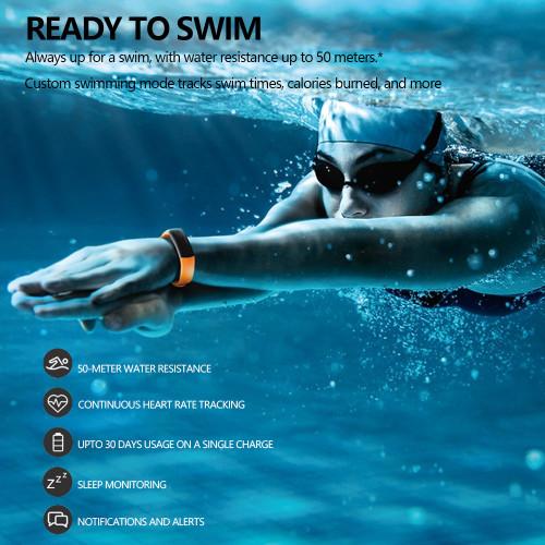Original Huawei Honor Band 3 Smart Bracelet Heart Rate Monitor Honor 3 Smart Wristband Swimming Waterproof Fitness Tracker