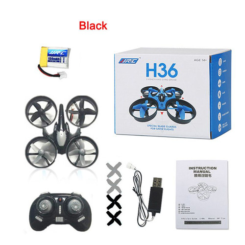 JJRC H36 Mini Drone Quadcopters 2.4G Remote Control Headless Mode One Key Return RC Drone Helicopter Birthday Gift Toys For Kids
