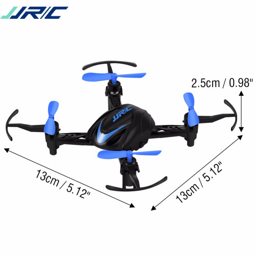 JJRC H48 Mini RC Drone 2.4G 4CH 6-Axle 3D Flips Infrared Quadcopter Kids Toy LED Light Selfie Pocket Drone Helicopter RTF VS H36
