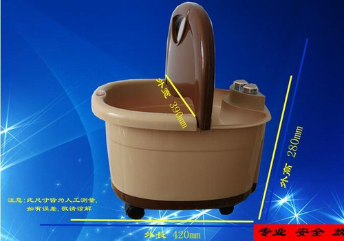 Electric Foot Spa Footbath Machine Full-automatic Massage Heating Roller Massager Safe Bucket Constant Basin Tool Health