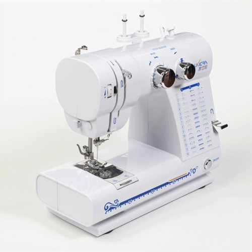 Household multifunctional electric sewing machine,with side whipstitch function,can replace the presser foot,with pedals