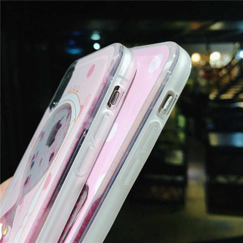 Hourglass Perfume Phone Case For iPhone X 6 6S 7 8 Plus Cases Dynamic Liquid Glitter Sand Quicksand 7Plus 8Plus Cover Coque