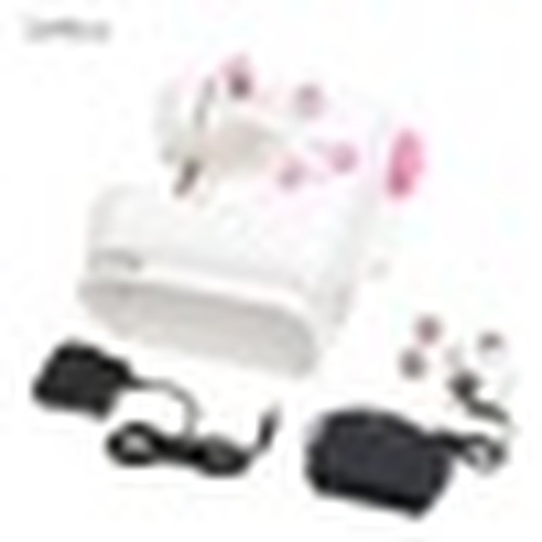 220V Multifunction Pink Electric Home Desktop Sewing Machine Handwork US Plug 9W