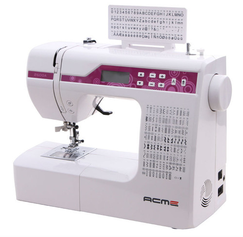 Household electronic multifunctional sewing machine JH2600a/ acme brand with 100 stitches and 100 letters stitches/with big gift