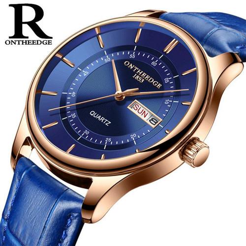 Minimalist stylish men quartz watches drop shipping 2018 new fashion simple brown clock male wristwatches gifts auto date clock