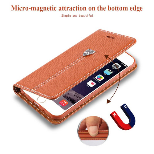 FLOVEME For iPhone 6 6s Flip Leather Case For iPhone 6 S Plus Case Luxury Wallet Magnet Stand Card Cover For iPhone 6 7 8 X Case