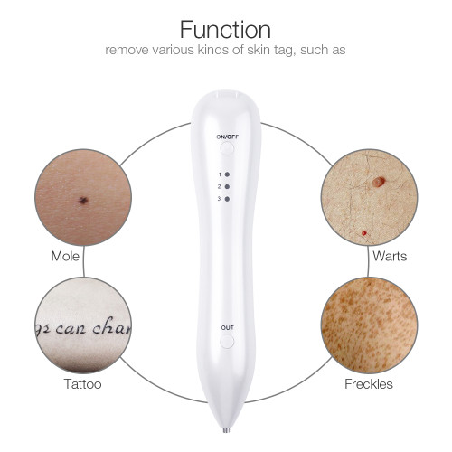 Spot Eraser Skin Care Point Pen Mole Removal Dark Spot Remover Pen Skin Wart Tattoo Removal Tool Laser Plasma Pen Beauty Care