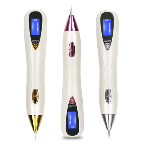 LCD Laser Skin Care Point Pen Sweep Mole Removal Dark Spot Remover Pen Wart Tag Freckle Removal Tool Plasma Pen Beauty Care