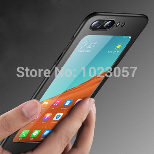 ZTE Nubia X Full Protection Cover Case For ZTE Nubia X NX616J Case With Full Tempered Glass For ZTE Nubia X