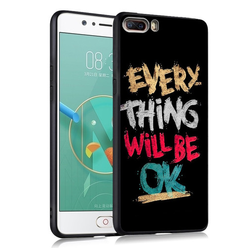 ZTE Nubia M2 Case Cover TPU Black Soft Case For ZTE nubia M 2 Cover Case Painting TPU ZTE M2 Case