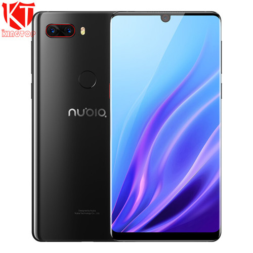 Original ZTE Nubia Z18 Mobile Phone 6.0'' Full Screen Snapdragon 845 Octa Core 6GB 64GB Dual Rear 16MP+20MP Camera 3450mAh Phone