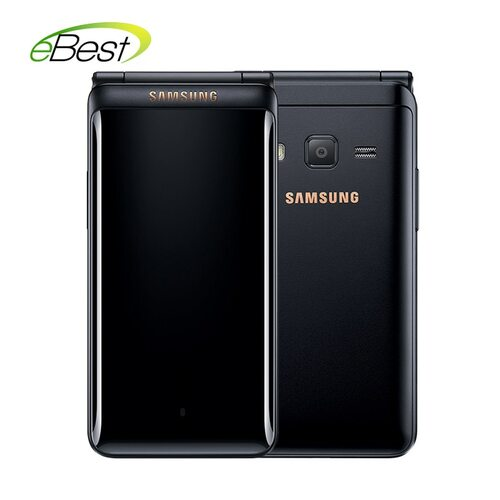 "Original Samsung Galaxy Folder 2 G1650 business Flip SmartPhone Quad Core Dual SIM 16GB ROM 2GB RAM 3.8"" 4G LTE  Mobile Phone"