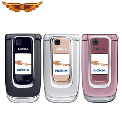 6131 Unlocked Original Unlocked Nokia 6131 Cheap Mobile phone Russian  keyboard  Bluetooth