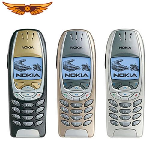 6310i Original Unlocked Nokia 6310i Tri-band 2G GSM Support Russian/Arabic keyboard Classical Refurbished Cellphone