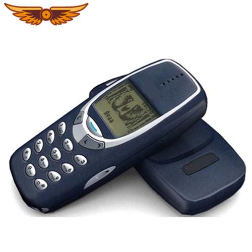 3310 Original Unlocked Nokia 3310  Cheap 2G GSM Support Russian &Arabic Keyboard Refurbished Cell Phone Free Shipping