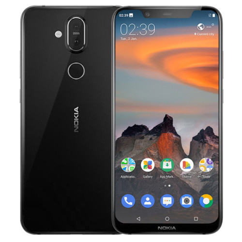 NOKIA X7 TA-1131 6GB RAM 128GB ROM Snapdragon 710 2.2GHz Octa Core 6.18 Inch FHD+ Full Screen Android 8.1 4G LTE Smartphone