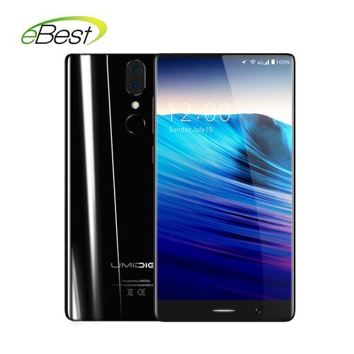 Umidigi Crystal 4G Borderless smartphone 5.5 inch FHD MTK6737T Quad Core Android 7.0 2GB RAM 16GB ROM 3000mAh mobile phone