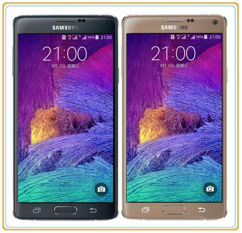 "Samsung Galaxy Note 4 N9100 Original Unlocked GSM 4G LTE Android Mobile Phone Quad Core 5.7"" 16MP Dual SIM RAM 3GB ROM 16GB"