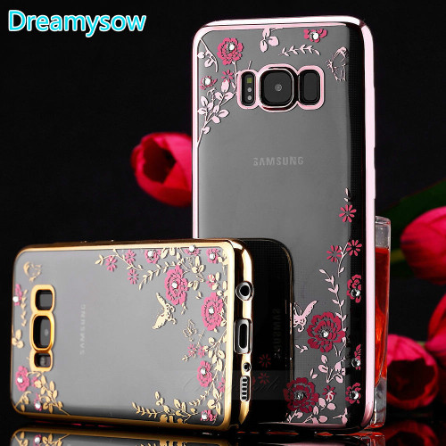 Bling Diamond Silicone TPU Cover for Samsung Galaxy 6prime J6plus J4prime J4plus A8star A9star J7 2018 NOTE9 J8 2018 J4 2018