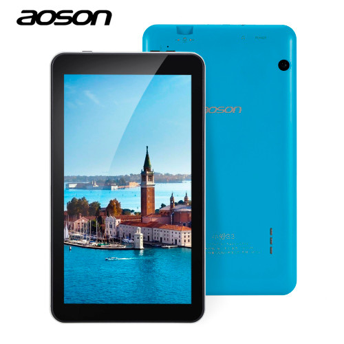 Imported Aoson M753 7 inch Android 6.0 Kids Tablet PC IPS 16GB/1GB Bluetooth WIFI with Parental Control Software Candy Blue Color