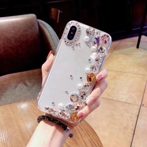 DIY Bling Glitter Diamond Shell For Huawei P20 Y7Prime 2018 lite pro Nova 3e 2s 2i Honor 8 9 10 v8 v10 7x 7c 7A Pro Case Cover