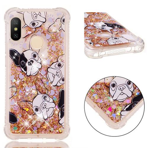 Case for Xiaomi Mi A2 Lite 5x A1 Redmi S2 Y2 Y1 6 6a Note 4 4x 5 Pro 5a Prime Plus Ultra Hybrid Silicone Glitter Quicksand Cover