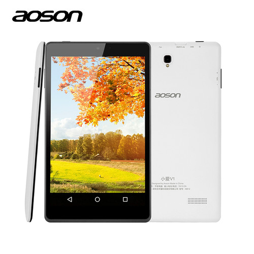 Imported Aoson M812 Ultra-Thin 8 inch Android Tablet 1GB RAM 16GB ROM Lollipop Tablets PC IPS Allwinner A33 Quad Core Bluetooth
