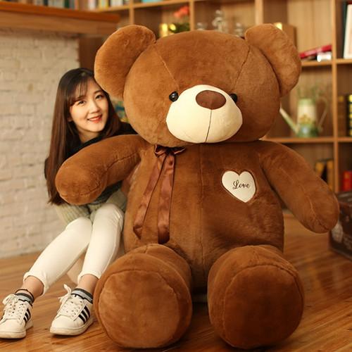 Love ribbon bear Big teddy bear kids toys we bare bears kawaii teddy bear stuffed toys kawaii plush girls  valentine day gifts