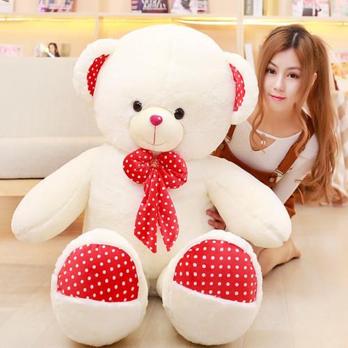 Big teddy bear real doll  teddy care bears baby doll toys for children stuffed toys animal teddy gift for girlfriend