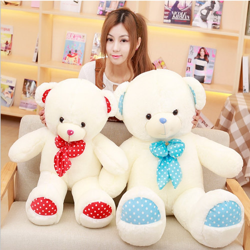 Big teddy bear real doll  teddy care bears baby doll toys for children stuffed toys animal teddy gift for girlfriend