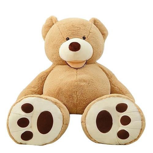 200cm Soft American Giant Bear Skin Bear Toy Big Animals Bears Coat For GirlFriend Valentine's Day Gift Animal Teddy Bear Coats