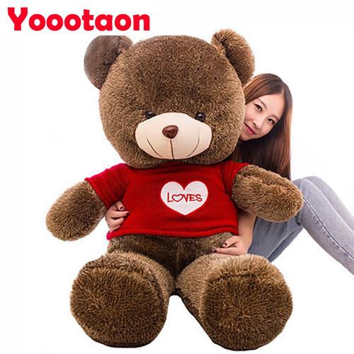 60cm Kawaii Teddy bear kids plush toys High-quality baby toys stuffed dolls for children free shipping