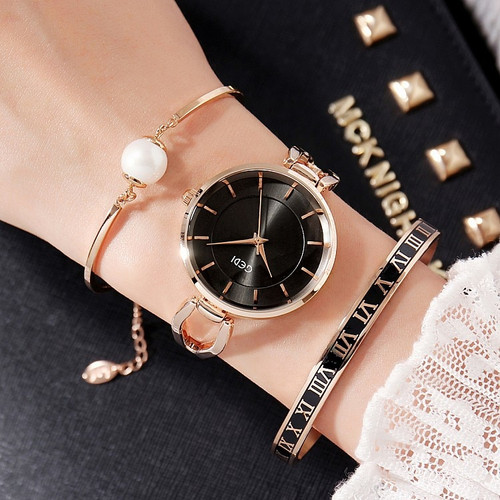 Luxury brand set Women Rhinestone Watch Crystal Ceramic Watches Female Quartz Wristwatches Lady Dress Watch relogio feminino