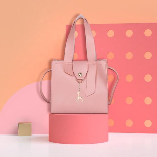 2019 Women Casual Shoulder Handbags PU Leather Girls Star Crossbody Messenger Bags Ladies Fashion Large Capacity Handbag New
